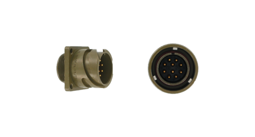MIL-C-5015 Series circular connector bayonet coupling